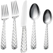 Tufted 20-pc. Stainless Steel Flatware Set