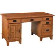 Pan-American Pedestal Desk