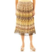 Alfred Dunner® Call of the Wild Tribal Biadere Skirt