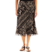 Alfred Dunner® Belize Tribal Print Skirt