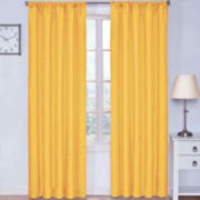 Eclipse® Kids Microfiber Rod-Pocket Thermal Blackout Curtain Panel