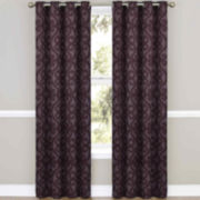 Eclipse® Patricia Grommet-Top Thermal Blackout Curtain Panel