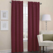 Sun Zero™ Dion Rod-Pocket Thermal Blackout Curtain Panel