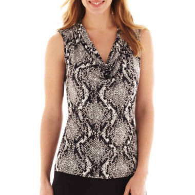 jcpenney.com | Worthington® Sleeveless Cowlneck Top