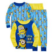 Minion 4-pc. Cotton Pajama Set - Toddler Boys 2t-4t