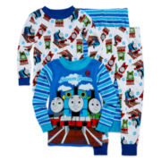 Thomas the Train 4-pc. Cotton Pajama Set - Toddler Boys 2t-4t