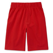 Okie Dokie® Knit Pull-On Shorts - Preschool Boys 4-7