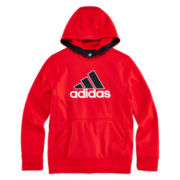 adidas® Performance Pullover Fleece Hoodie - Boys 8-20