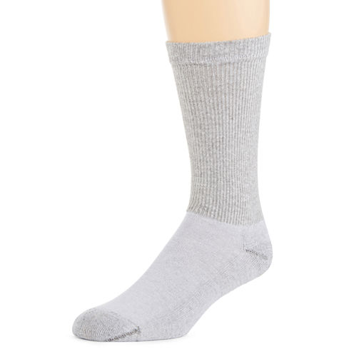 Hanes® Mens 10-pk. Cushioned Foot Crew Socks