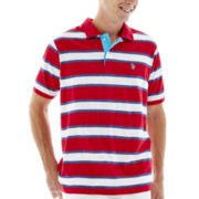 U.S. Polo Assn.® Striped Slub Polo