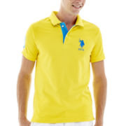 U.S. Polo Assn.® Slim-Fit Big Pony Piqué Polo