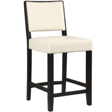 jcpenney.com | Josie Faux-Leather Upholstered Barstool with Back