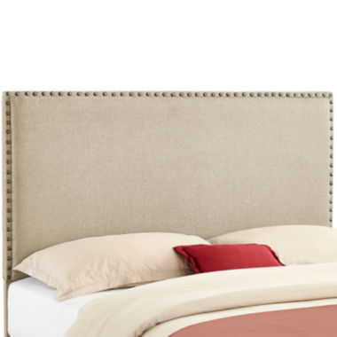 jcpenney.com | Conway Upholstered Headboard with Nailhead Trim