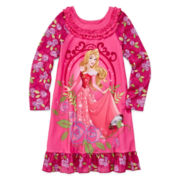 Disney Collection Aurora Nightgown - Girls 2-10