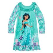 Disney Collection Jasmine Nightgown - Girls 2-10