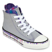 Converse Chuck Taylor All Star Girls Zip High Tops