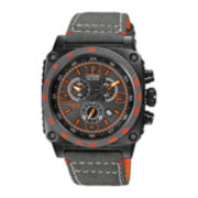 Citizen® Eco-Drive™ Mens Gray Square Case Chronograph Watch AT2288-03H