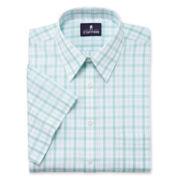Stafford® Short-Sleeve Broadcloth Dress Shirt–Big & Tall