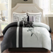 Madison Park Selma 7-pc. Leaf Comforter Set