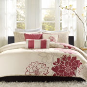 Madison Park Emily 6-pc. Floral Duvet Cover Set
