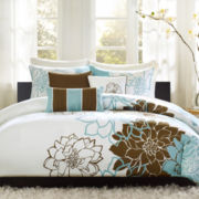 Madison Park Farrah 6-pc. Floral Duvet Cover Set