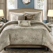 Madison Park Nadia 6-pc. Jacquard Duvet Cover Set