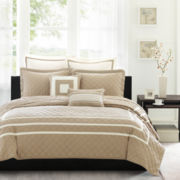 Madison Park Columbia 7-pc. Quilted Coverlet Set