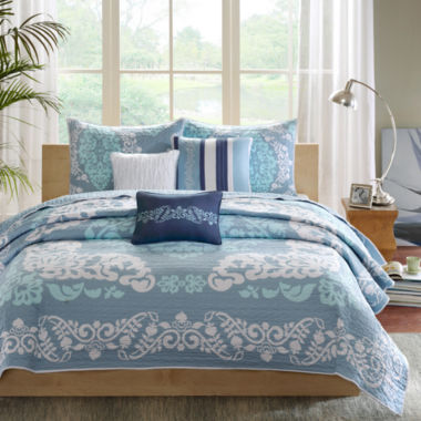 jcpenney.com | Madison Park Murray 6-pc. Quilted Coverlet Set