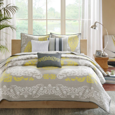 jcpenney.com | Madison Park Leila 6-pc. Quilted Coverlet Set