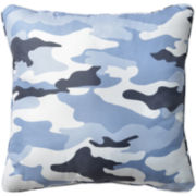 Cadet Square Decorative Pillow