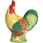 Pfaltzgraff® Rooster Meadow Cookie Jar