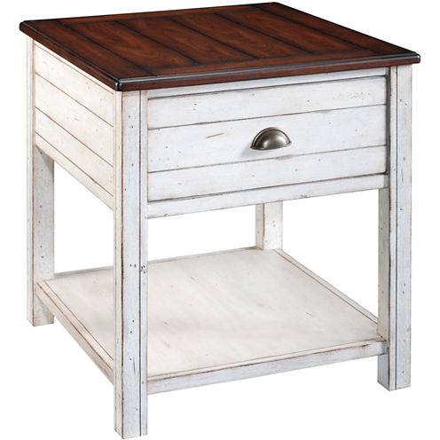 Carriage House End Table