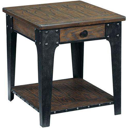 Deerfield Rectangular End Table