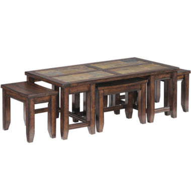 jcpenney.com | Cargo 5-pc. Nesting Coffee Table Set
