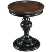 "Jonesboro Distressed 24"" Round End Table"