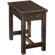 "Bronx Distressed 25"" Chairside Table"