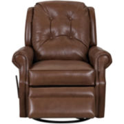 Sand Key Faux Leather Recliner