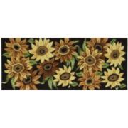 Nourison® Sunflower Utility Runner Rug