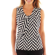 Worthington® Pleated-Shoulder Top