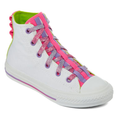 jcpenney.com | Converse Chuck Taylor All Star Loopholes Girls Sneakers - Little Kids