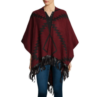 jcpenney.com | Mixit™ Aztec Wrap with Fringe