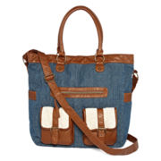 Arizona Double Pocket Denim Tote