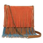 Arizona Fringe Tiered Crossbody Bag