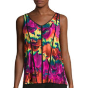 Worthington® Blocked Tank Top - Tall