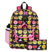Accessories 22 5-pc. Emoji Backpack