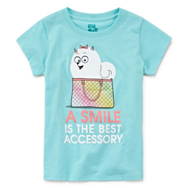 jcpenney.com | Secret Life of Pets Short-Sleeve A Smile Tee - Preschool Girls 4-6x