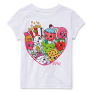 Shopkins Short-Sleeve Heart Graphic Tee - Preschool Girls 4-6x