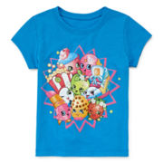 Shopkins Short-Sleeve Burst Tee - Preschool Girls 4-6x