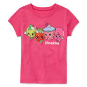 Shopkins Short-Sleeve Line Up Tee - Preschool Girls 4-6x