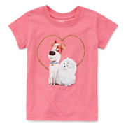 Secret Life of Pets Short-Sleeve Puppy Love Tee - Toddler Girls 2t-4t